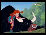 Пеппи Длинный Чулок / Pippi Longstocking 1x11 Пэппи побеждает быка
