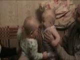 Моя дочь Саша и сын моей подруги Даня 12.11.11